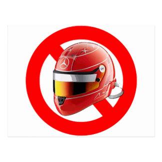 Anti Schumacher Girl Shirt with Logo Postcard