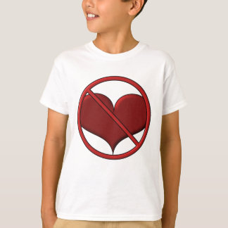 Anti Valentine's Day Heart: S.A.D. by Sonja A.S. T Shirts