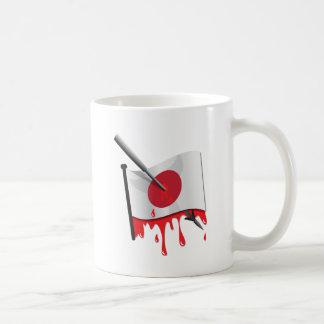 anti-whaling statement harpoon flag basic white mug