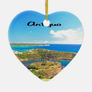 Antigua Ceramic Heart Decoration