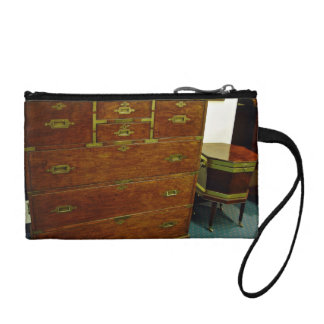 Antique chest of drawers change purse