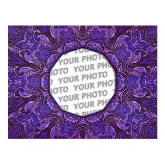 Antique Frame ARTs 3 + your photo Postcard