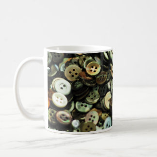 Antique Sewing Buttons Mug