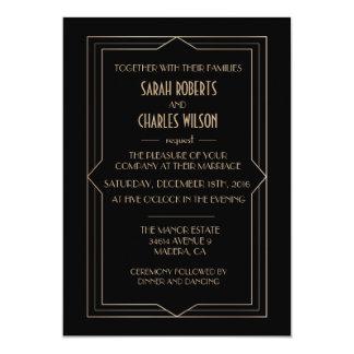 ANY EVENT - Great Gatsby Art Deco Invitation
