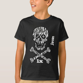 Any Teen or Tween Birthday Skull and Crossbones Z1 Tee Shirts