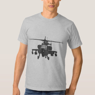 Apache Helicopter Tee Shirt