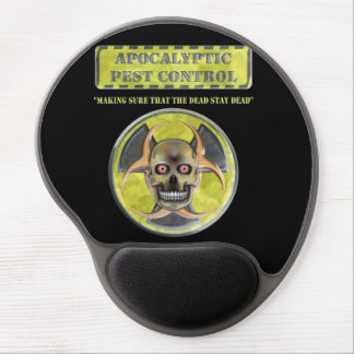 Apocalyptic Pest Control Gel Mouse Pad