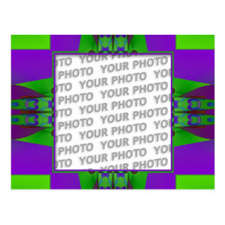 Apophysis fractal decor 3 + your photo postcard