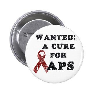 APS Awareness Items 6 Cm Round Badge