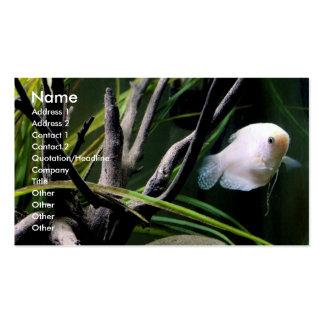 Aquarium Profile Cards Pack Of Standard Business Cards