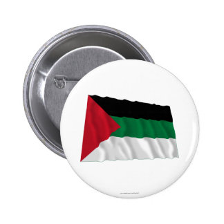 Arab Revolt Waving Flag 6 Cm Round Badge