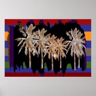 Arabian Nights -  Dancing Trees Poster
