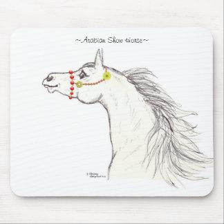 Arabian show horse costume Mousepad