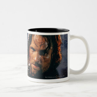 Aragorn With Army Two-Tone Mug