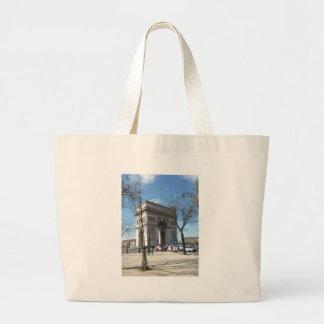 Arc de Triomphe, Paris, France Jumbo Tote Bag
