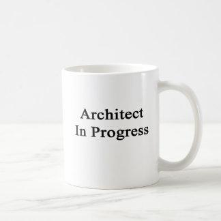 Architect In Progress Basic White Mug