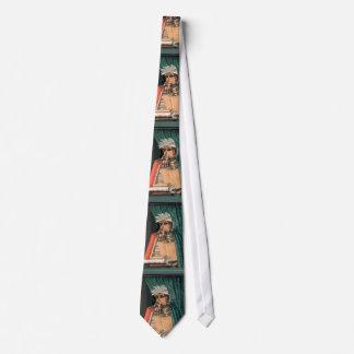 Arcimboldo - The Librarian - Unique Imaginative Tie