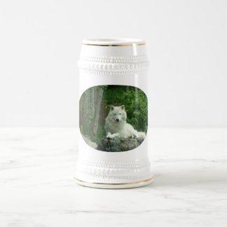 Arctic Wolf Beer Stein Beer Steins