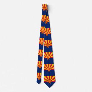 Arizona State Flag Design Tie
