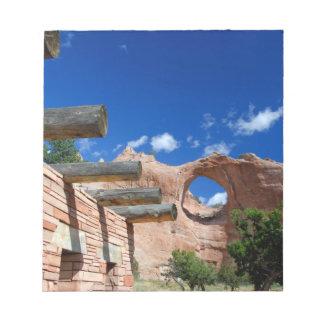 Arizona, Window Rock. Capital of the Navajo Memo Pad
