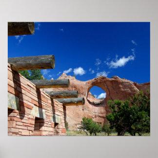 Arizona, Window Rock. Capital of the Navajo Poster