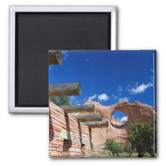 Arizona, Window Rock. Capital of the Navajo Square Magnet
