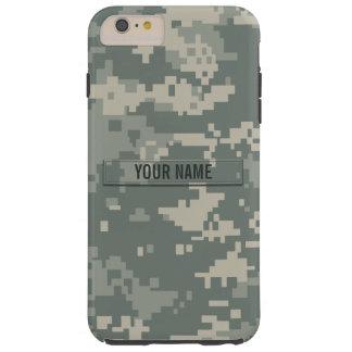 Army ACU Camouflage Customizable Tough iPhone 6 Plus Case