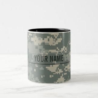 Army ACU Camouflage Customizable Two-Tone Mug