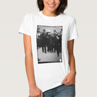 Arrest of a Suffragette in London England c 1910 T-shirts