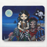 Arrival of the Damned undead pirates Mousepad