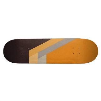 ART DECO skateboard (tangerine)