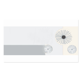 Art Deco Visual Retro Abstract Minimalism Pack Of Standard Business Cards
