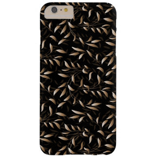 Art Deco Willow Leaf Pattern Barely There iPhone 6 Plus Case
