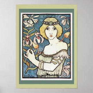 Art Nouveau ~ Paul Berthon  Poster
