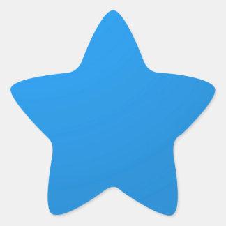 Artist Created Blue Color Shade :Add txt n image Star Sticker