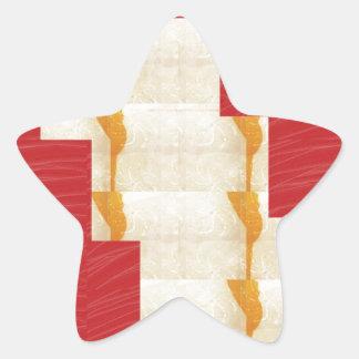 ARTIST created SILKY Color Pallet n Crystal Tiles Star Sticker