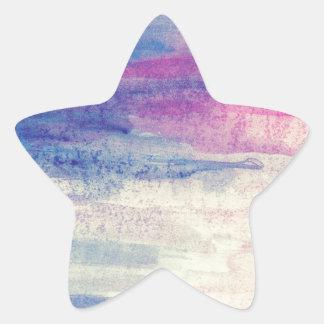 Artistic Colours Star Sticker