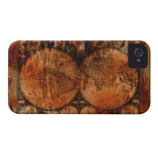 Arty Vintage Old World Map Blackberry Case