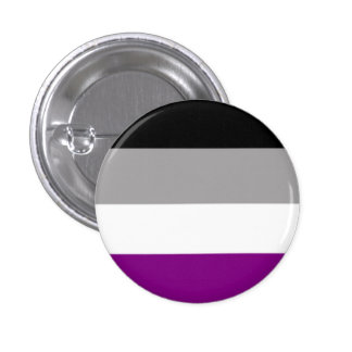 Asexuality 3 Cm Round Badge
