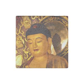 Asia Golden Buddha Stone Magnet