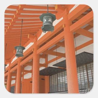 Asia, Japan, Kyoto, Heian Shrine Square Sticker