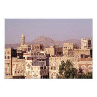 Asia, Middle East, Republic of Yemen, Sana'a. Photo Art
