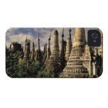 Asia, Myanmar, Inle Lake. Ancient ruins of iPhone 4 Cover