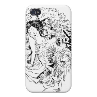 Asian Girl Cases For iPhone 4