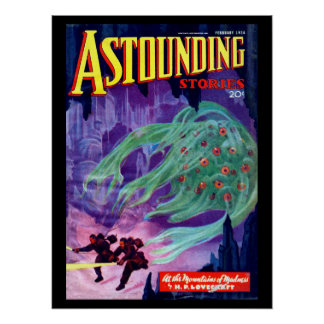 Astounding Stories - Feb 1936a_Pulp Art Poster