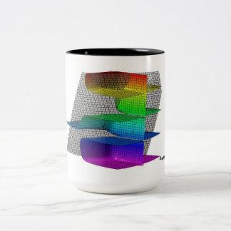 Asymptotically Close! Two-Tone Mug