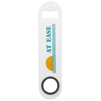 """""""At Ease"""" custom bottle opener"""