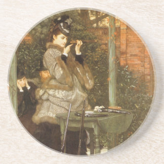 At the Rifle Range by James Tissot Coaster