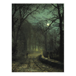 Atkinson Grimshaw Yorkshire Lane CC0622 Postcard