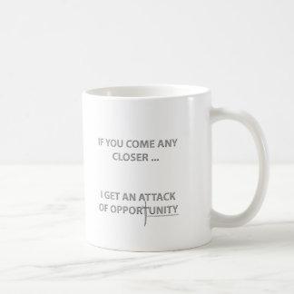 Attack of Opportunity Basic White Mug